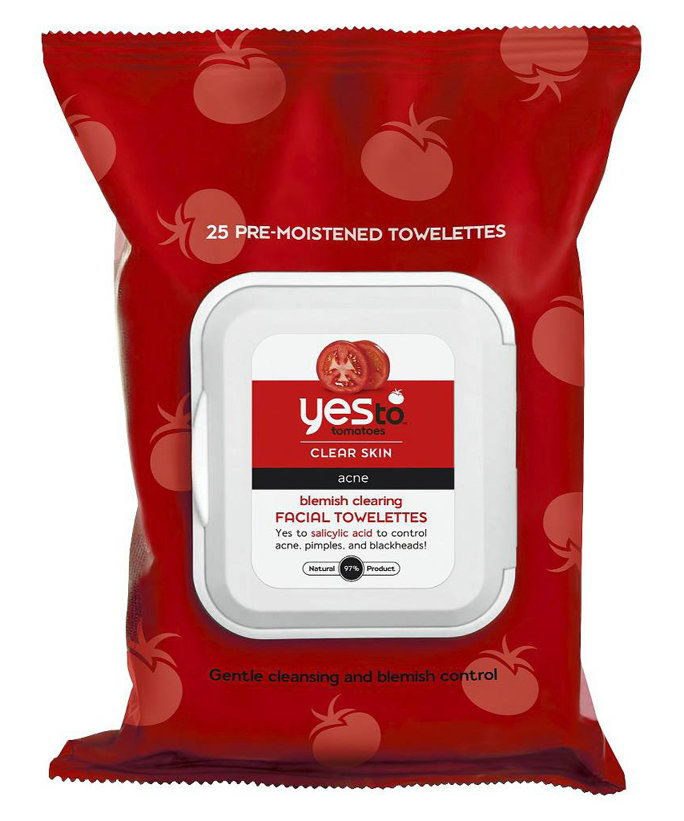 Με τάση ακμής Skin: Yes to Tomatoes Blemish Clearing Facial Towelettes