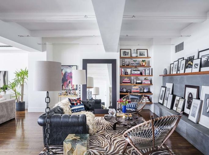 Τζένιφερ Fisher Home Tour - The Library