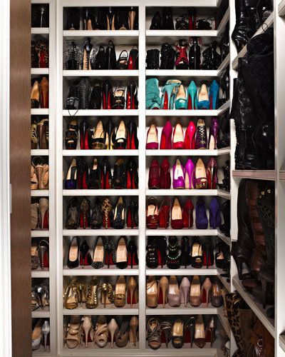 Khloe Kardashian's Shoe Collection
