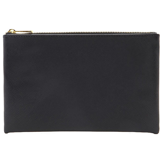 завинаги 21 Textured Faux Leather Pouch