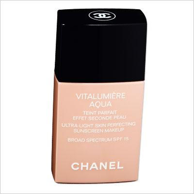 CHANEL VITALUMIÈRE AQUA SKIN PERFECTING MAKEUP