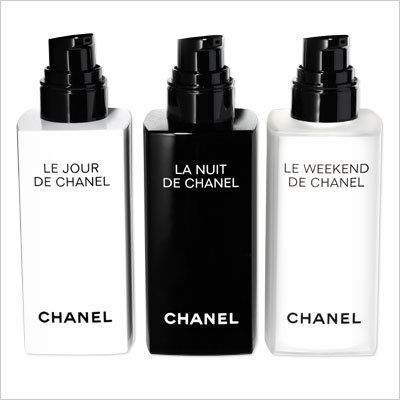 CHANEL LE JOUR, LA NUIT, AND LE WEEKEND