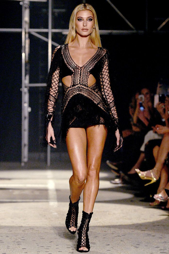 Julien Macdonald Hailey Baldwin
