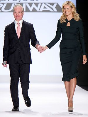 Хайди Klum and Tim Gunn