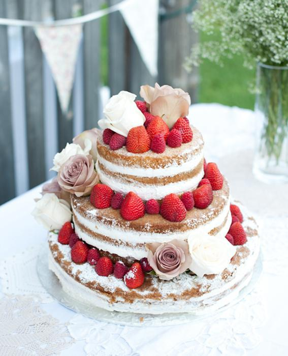 гол Wedding Cake from Top of the Hill Bakery