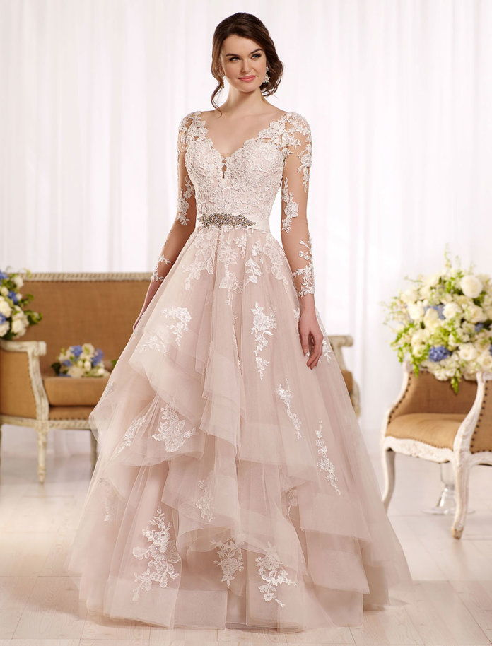 Μακρύς Sleeved Wedding Dress