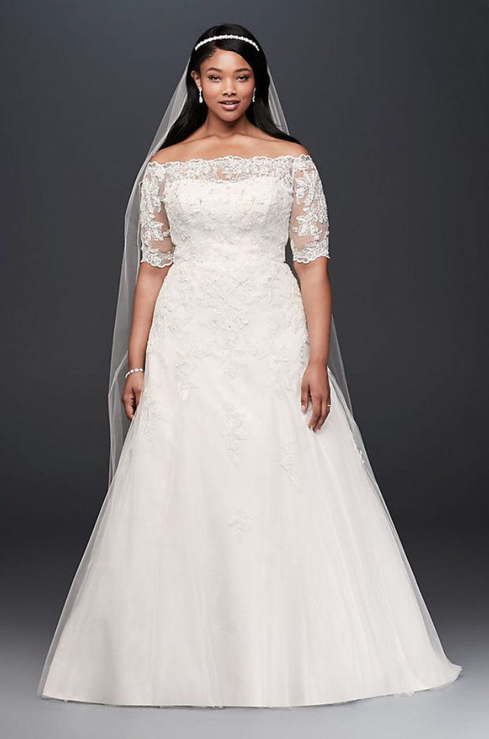 Κόσμημα 3/4 Sleeve Wedding Dress