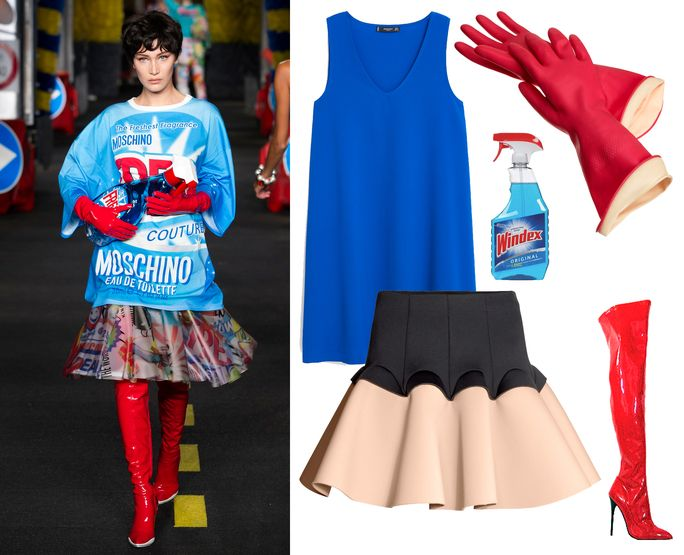 Moschino's Windex-Themed Show