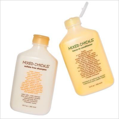 смесен Chicks Sulfate Free Shampoo And Leave-in Conditioner