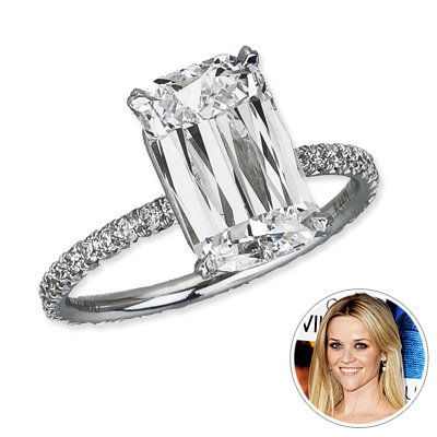 Рийз Witherspoon - engagement ring