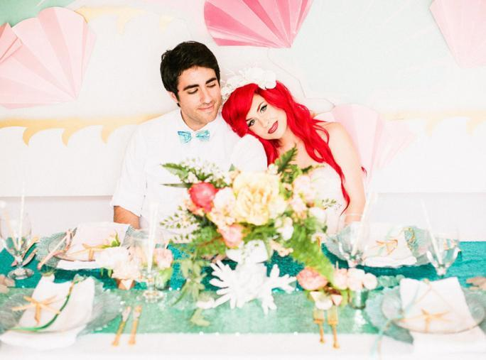 Λίγο Mermaid Wedding