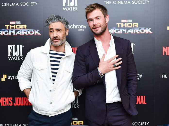 Taika Waititi and Chris Hemsworth - Embed