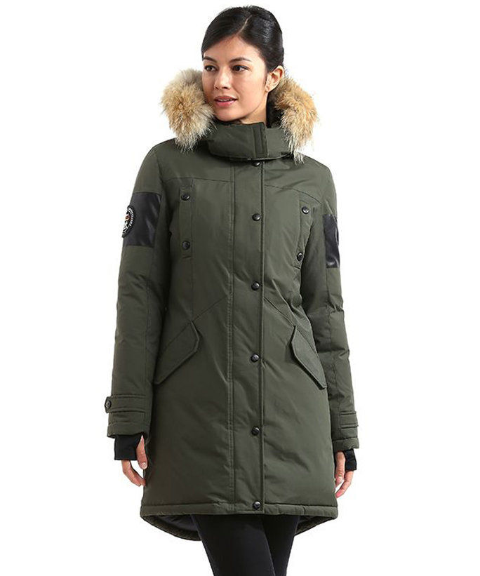 троен F.A.T. Goose Embree Womens Hooded Arctic Parka