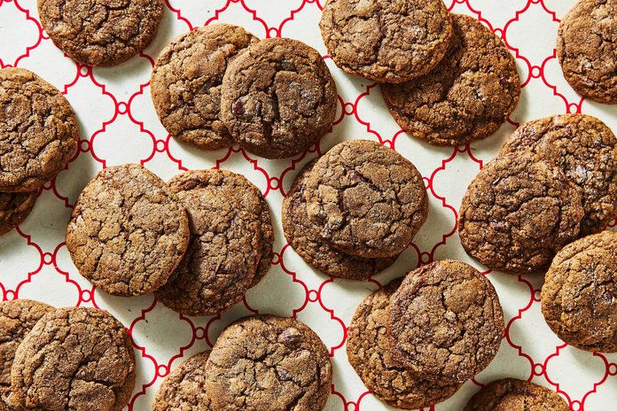 Chewy Chocolate-Gingerbread Cookies