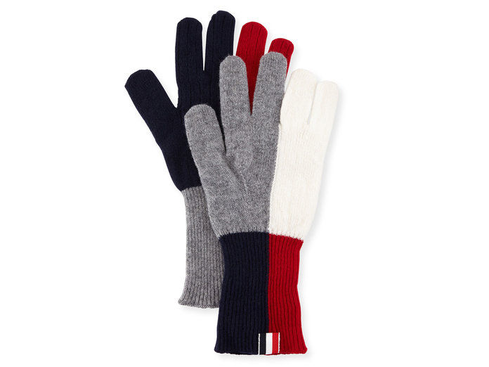 Μαλλί Knit Gloves