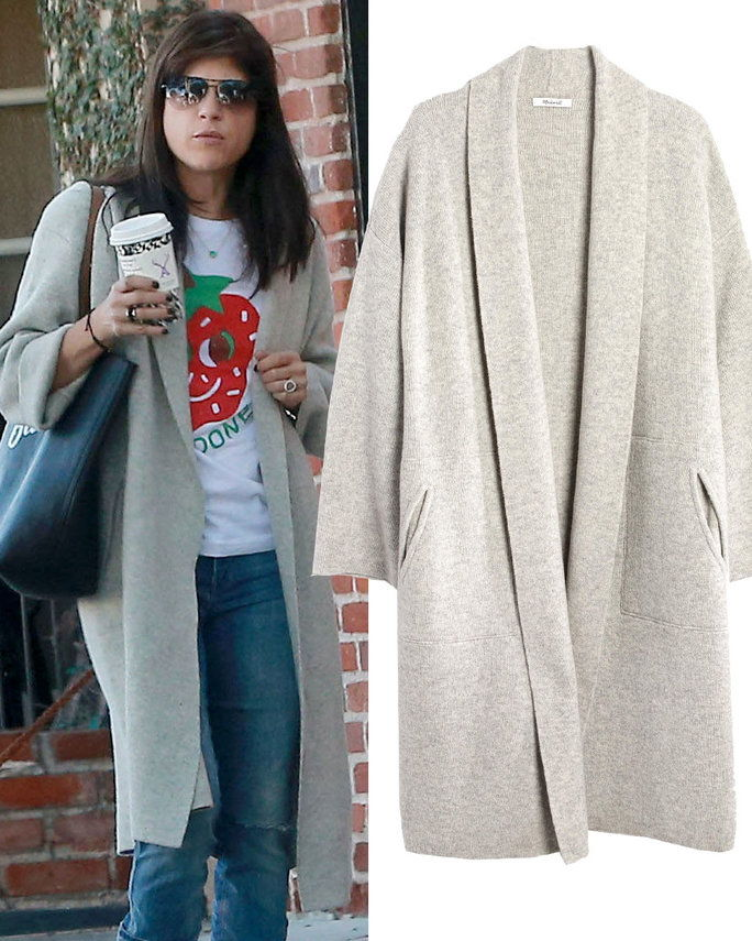 Σέλμα Blair in Madewell sweater coat