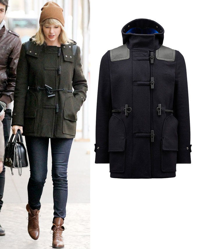 Τάιλορ Swift in Hunter Boots Original coat