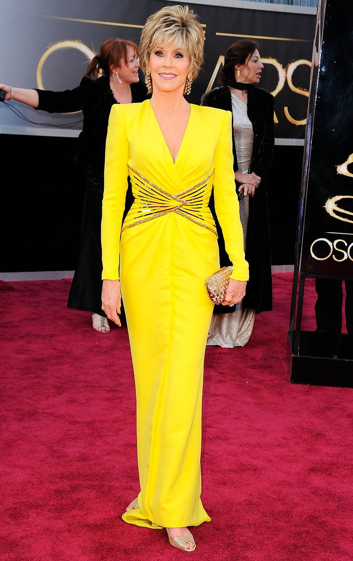 2013: In ATELIER VERSACE at the Academy Awards in L.A.