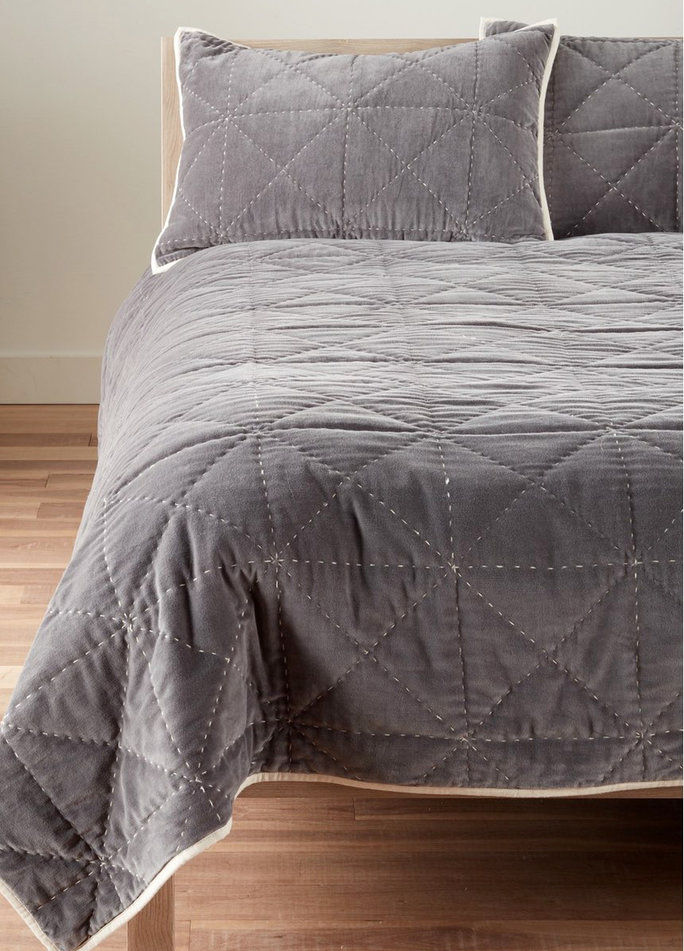 Nordstrom at Home 'Davie' Velvet Comforter