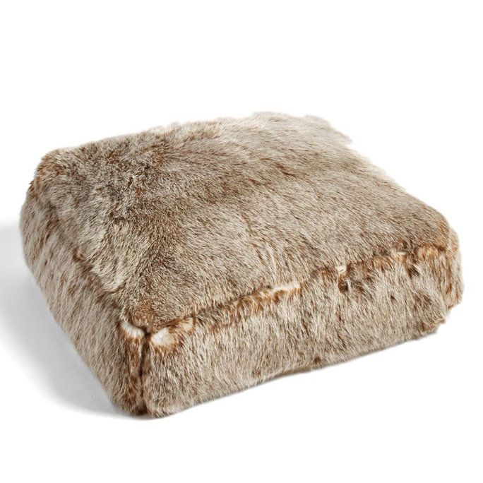 Nordstrom at Home 'Cuddle Up' Faux Fur Pouf