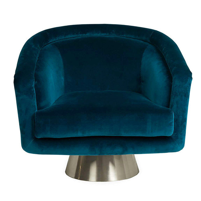 Ιωαναθάν Adler velvet chair