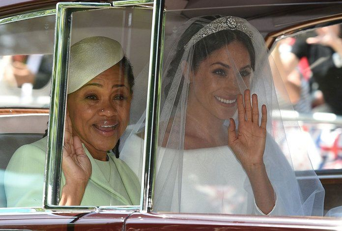 Θωμάς Markle and Doria Ragland embed