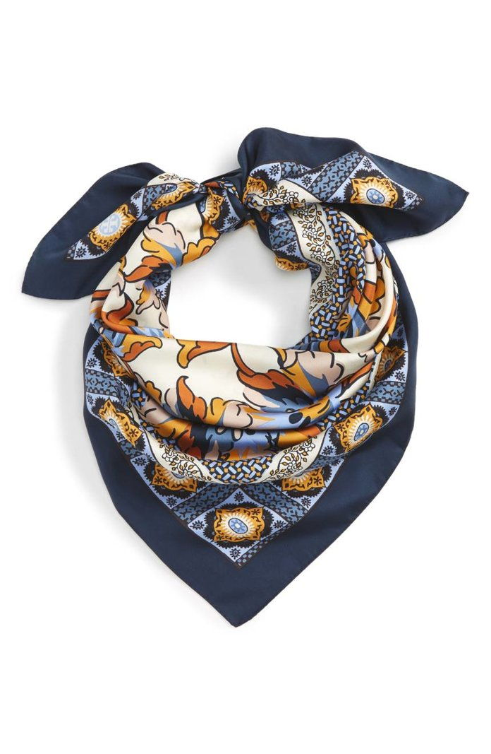 тигър Lily Silk Square Scarf