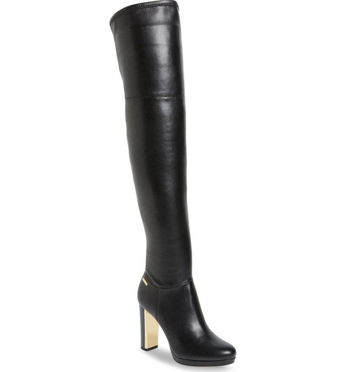 'Polomia' Platform Over the Knee Boot