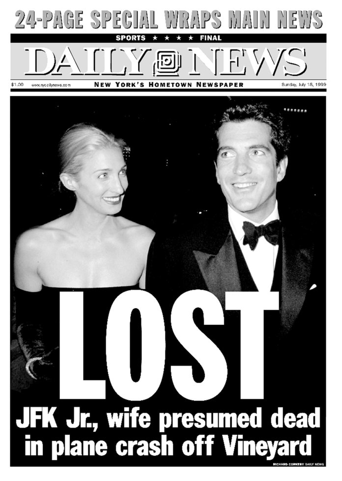 преден page of the Daily News dated July 18, 1999, Headline: