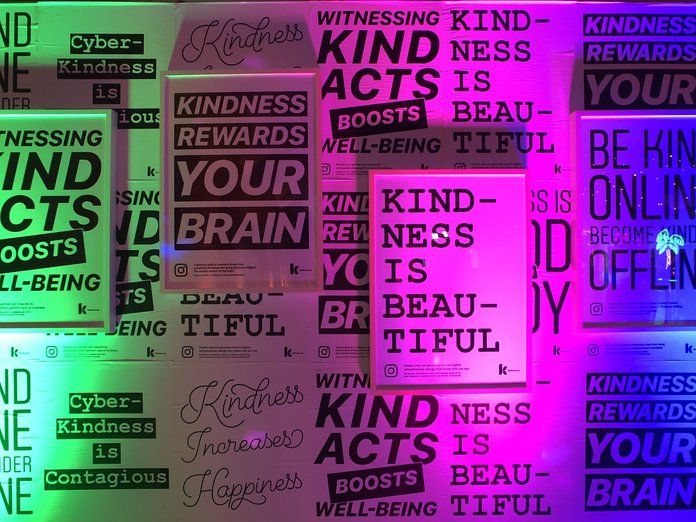 доброта Wall from Instagram Kindness Prom